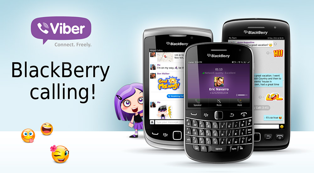 Viber для Blackberry