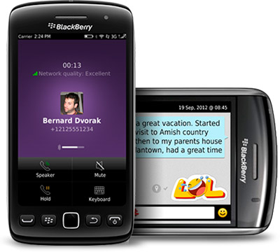 Viber для Blackberry новая версия