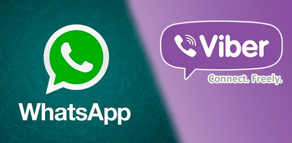 WhatsApp или Viber