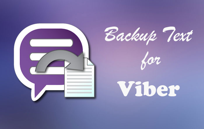 Скачать Backup Text for Viber