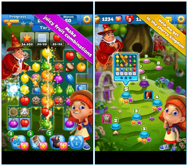 Игра Fruit Land