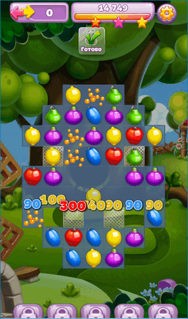 Игра Viber Fruit Adventure